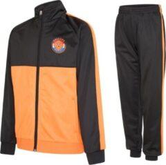 Nederland Oranje trainingspak 21/22 - Holland pak - Holland vest en trainingsbroek - oranje joggingspak - 100% Polyester - maat 152