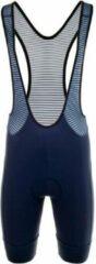 Bioracer - Spitfire Bibshort new - Fietsbroek maat XL, blauw/zwart/grijs