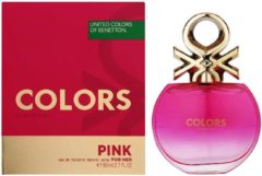 Colors De Beneton Pink By Benetton Edt Spray 80 ml - Fragrances For Women