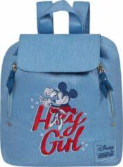 Blauwe American Tourister Rugzak - Modern Glow Disney City Backpack Disney Minnie Darling Blue