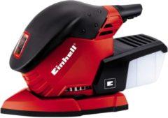 Rode Einhell TE-OS 1320 Multi Schuurmachine - 130 W - Schuuroppervlak: 150 x 150 x 100 mm - Inclusief 3x schuurvel (K120)