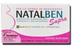 Italfarmaco NATALBEN SUPRA 90 CAPSULE MOLLI