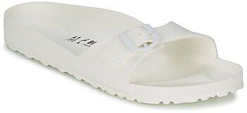 Afbeelding van Witte Birkenstock Women's Madrid Slim Fit Eva Single Strap Sandals - White - UK 8/EU 41