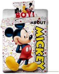 Disney Mickey Mouse About - Dekbedovertrek - Eenpersoons - 140 x 200 cm - Multi