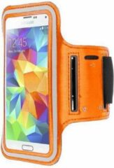 Samsung Galaxy S4 sports armband case Oranje Orange