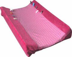 Roze Snoozebaby Happy Dressing Aankleedkussenhoes (45 x 70cm) Funky Pink