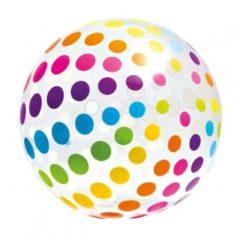 Strandbal opblaasbaar Intex stippen 107 cm