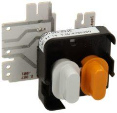Miele Drucktastenschalter 2.12900.042geh.weiss (2 dps) für Trockner 4765260