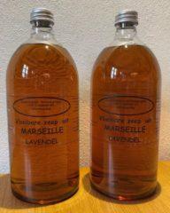 Provendi Vloeibare Marseille zeep, navulling 2 x 1000 ml Lavendel