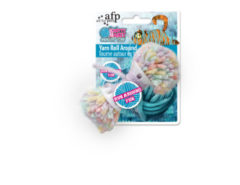 All For Paws Knotty Habit Yarn Roll Around - Kattenspeelgoed - 11x4x3 cm Multi-Color