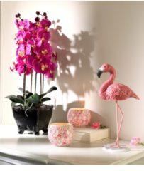 2er Set Teelichthalter 'Rosenmosaik' Mehrfarbig