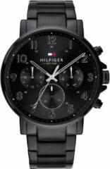 Tommy Hilfiger TH1710383 Horloge - Staal - Zwart - Ø 44 mm