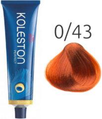 Rode Wella Professionals Wella - Color - Koleston Perfect - 0/43 Rood Goud - 60 ml