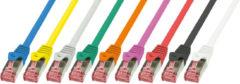 LogiLink Cat.6 S/FTP - 1m 1m Cat6 S/FTP (S-STP) Grau Netzwerkkabel CQ2032S