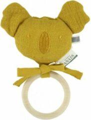 Groene Les Reves d' Anais Les Rêves d'Anais bijtring Koala - Bliss Mustard