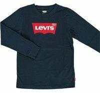 Levis! Jongens Shirt Lange Mouw - Maat 116 - Donkerblauw - Katoen