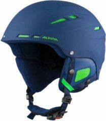 Alpina Biom Skihelm | 2019 | Mat Navy Blauw | Maat: 50 - 54 cm