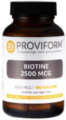 Proviform Biotine 2500mcg Vegicaps 100st