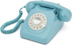 GPO Retro Vaste Telefoon Retro Vaste Telefoon draaischijf - Blauw