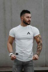 Sportshirt / t-shirt / shirt / tshirt heren / Above The Rest / wit / maat M