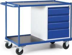 Protaurus TAUROFLEX Werkstattwagen 250 kg mit 4 Schubladen, 115 x 60 x 84 cm