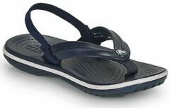 Blauwe Teenslippers Crocs Crocband Strap Flip K