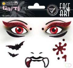 HERMA Face Art Glitter Sticker Vampire / Vampier