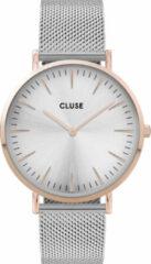 CLUSE CW0101201006 Horloge LA Boheme Mesh rosékleurige kast 38 mm