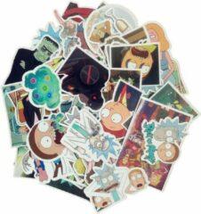 Favorite Things Sticker Mix Rick & Morty - 50 coole stickers voor laptop, koffer, muur, deur, longboard etc. Vinyl, UV bestendig & Waterproof