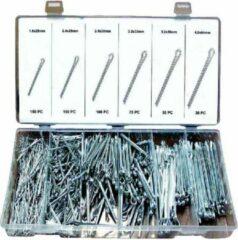 Weber Tools Assortiment Splitpennen 555 pcs - FD6008