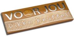 Voor Jou! Wensreep melkchocolade voor jou! knuffel 70 Gram