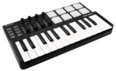 Zwarte OMNITRONIC KEY-288 MIDI Controller - Keyboard