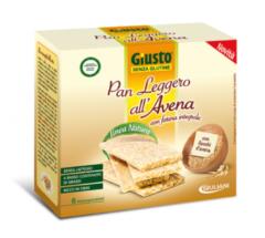 Giuliani Giusto Pan Leggero all'Avena con farina integrale senza glutine 6 pezzi