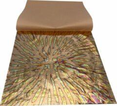 Gouden Mont Marte 8 vellen imitatie Koper explosie papier 14x14cm - decoupage