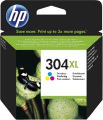 HP 304XL - hoog rendement - driekleur op verfbasis - origineel - inktcartridge (N9K07AE#301)