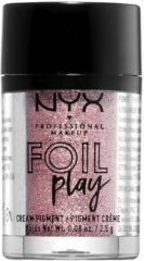 NYX Professional Makeup NYX - Professional - Foil Play Cream Pigment -Lidschatten - French Macron - Braun