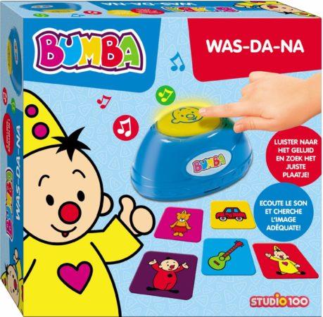 Afbeelding van Studio 100 Bumba Geluidenspel 'Was-da-na?' - Kinderspel