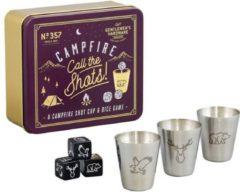 Gentlemen's Hardware Retro Campfire Games Call The Shot Drank Spel - Gentlemen's Hardware Retro Campfire Games Call The Shot Drank Spel