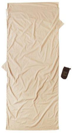 Afbeelding van Cocoon - Insect Shield TravelSheet Egyptian Cotton - Reisslaapzak maat 218 x 90 cm, beige/grijs