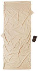 Cocoon - Insect Shield TravelSheet Egyptian Cotton - Reisslaapzak maat 218 x 90 cm, beige/grijs