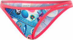 Blauwe Speedo Retro Pop String bikinibroekje - Bikini's