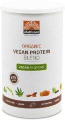 Merkloos / Sans marque Vegan Proteine Blend Organisch Powder 67% - 400 gram - Pot met 400 gram