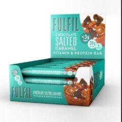 Fulfil Nutrition - Vitamin & Protein Bar - Chocolate Caramel Seasalt 15 stuks