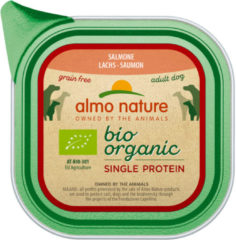 Almo Nature Alu Bio Organic Single Protein 150 g - Hondenvoer - Zalm Graanvrij