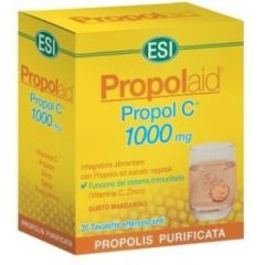 Esi Propolaid Propol 1000 C sistema immunitario gusto mandarino 20 tavolette effervescenti