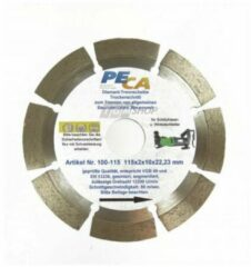 PECA diamond cutting discs, 125x22mm