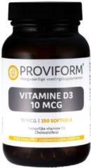 Proviform Vitamine D3 10mcg Softgel Capsules 250st