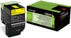 Lexmark 70C2HY0 (702HY) Toner Geel Hoge capaciteit
