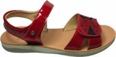 Naturino velcro cococinelle sandalen 5735 lak rood mt 38
