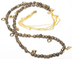 Gouden Sugarz dames ketting Gipsy Olive